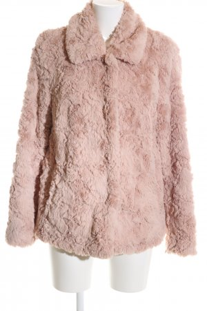 s.Oliver Fur Jacket pink casual look