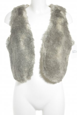 s.Oliver Fur vest multicolored fluffy