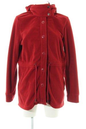 s.Oliver Fleece Coats red casual look