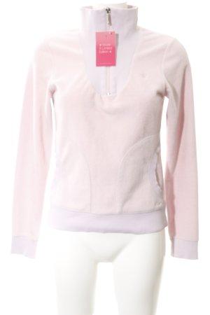 s.Oliver Fleecepullover rosé Casual-Look