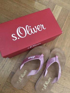 S.Oliver flip flops neue