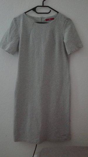 s.Oliver grau Kleid  Sweatkleid Sweat Herbstkleid