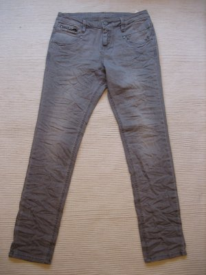 s.oliver graue jeans gr. s 36 roehrenjeans topzustand