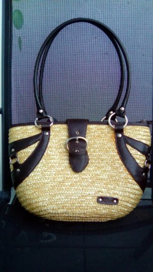 Anastacia by s.Oliver Carry Bag brown-beige