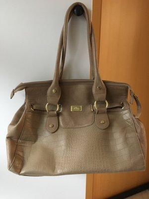s.Oliver Shoulder Bag beige-gold-colored