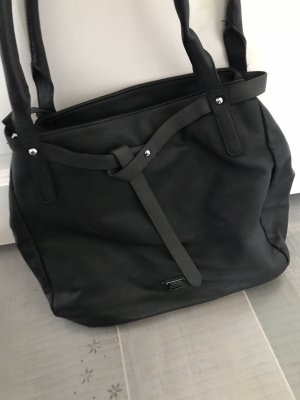 s.Oliver Pouch Bag black-grey