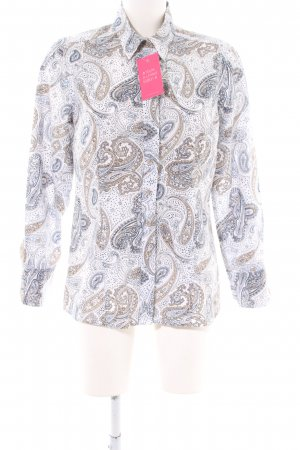 s.Oliver Hemd-Bluse abstraktes Muster Casual-Look