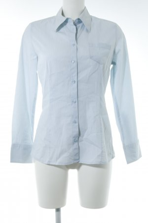 s.Oliver Shirt Blouse azure-white striped pattern casual look