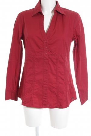 s.Oliver Hemd-Bluse karminrot Casual-Look