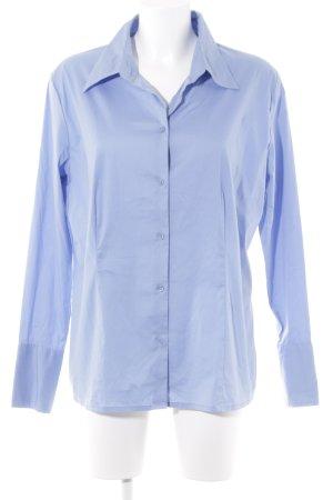 s.Oliver Blouse-chemisier bleuet style classique