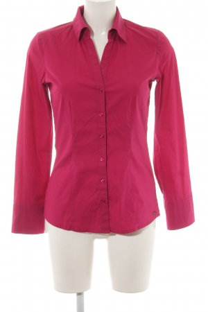 s.Oliver Hemd-Bluse magenta Business-Look