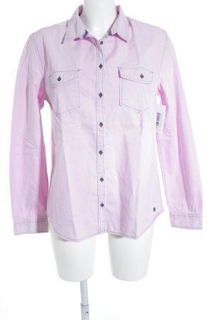 s.Oliver Hemd-Bluse rosé-flieder Casual-Look