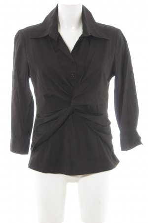 s.Oliver Hemd-Bluse schwarz Business-Look