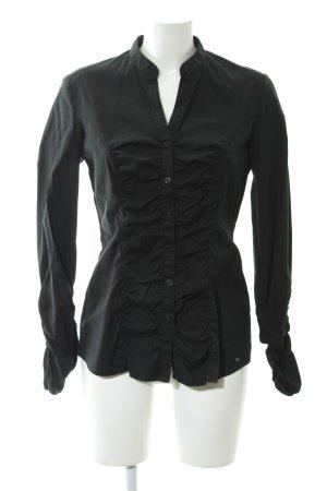 s.Oliver Hemd-Bluse schwarz Elegant