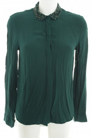 s.Oliver Hemd-Bluse waldgrün Casual-Look