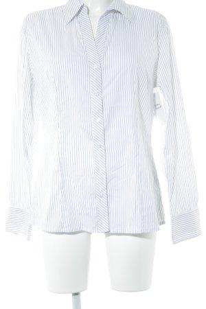s.Oliver Hemd-Bluse weiß-schwarz Streifenmuster Business-Look