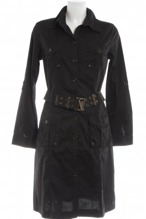 s.Oliver Shirtwaist dress black casual look