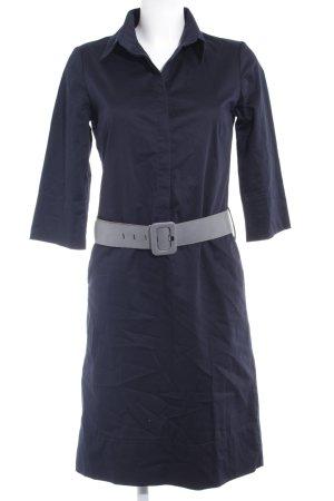 s.Oliver Hemdblusenkleid dunkelblau Elegant