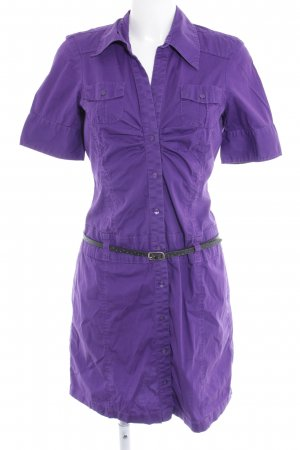 s.Oliver Shirtwaist dress lilac-black casual look