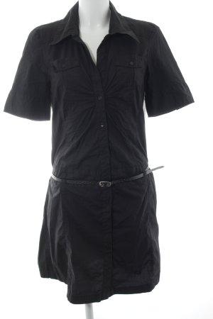 s.Oliver Robe chemise noir élégant