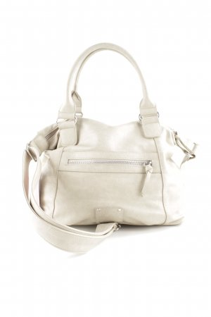 s.Oliver Bolso barrel blanco puro look casual