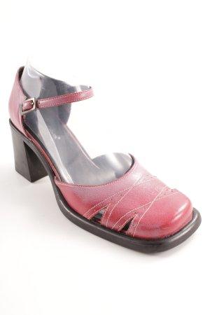 s.Oliver High Heel Sandaletten hellrot klassischer Stil
