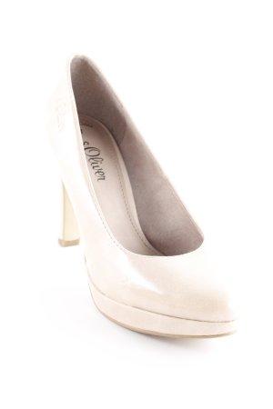 s.Oliver High Heels beige Elegant