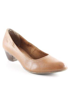 s.Oliver High Heels cognac Casual-Look