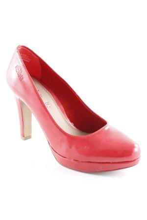 s.Oliver High Heels rot Elegant