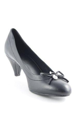 s.Oliver High Heels schwarz Casual-Look