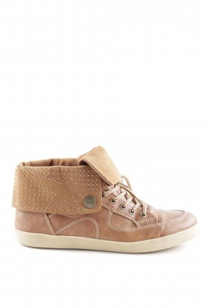 s.Oliver High Top Sneaker cognac Casual-Look