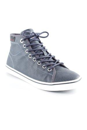 s.Oliver High Top Sneaker dunkelblau sportlicher Stil