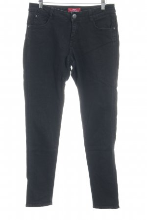 s.Oliver High Waist Trousers black casual look