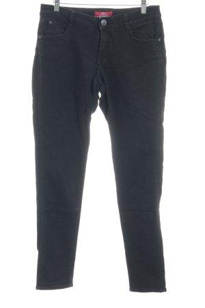 s.Oliver Hoge taille broek zwart casual uitstraling