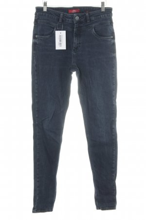 s.Oliver High Waist Jeans dunkelblau Casual-Look