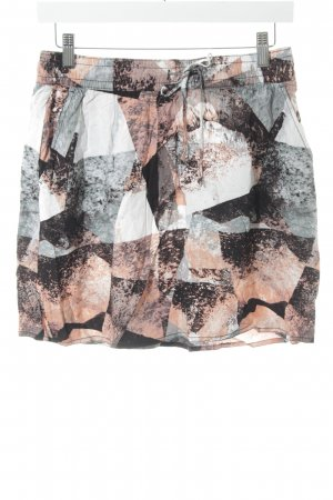 s.Oliver High Waist Rock abstraktes Muster Gypsy-Look