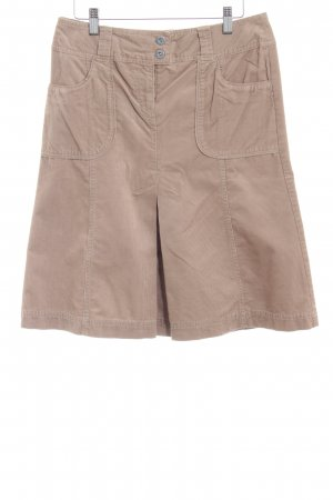 s.Oliver High Waist Rock camel Casual-Look