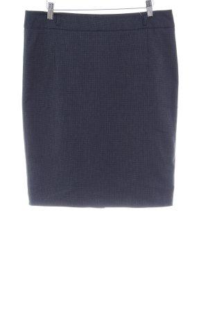 s.Oliver High Waist Rock dunkelblau Business-Look