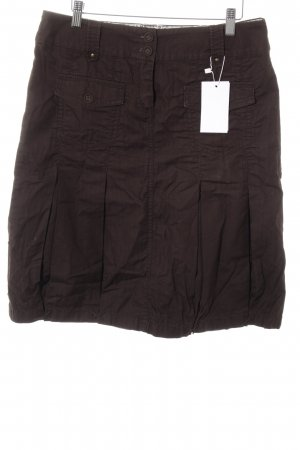 s.Oliver High Waist Skirt dark brown casual look