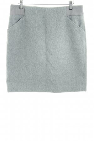 s.Oliver Jupe taille haute gris clair rayure fine style décontracté