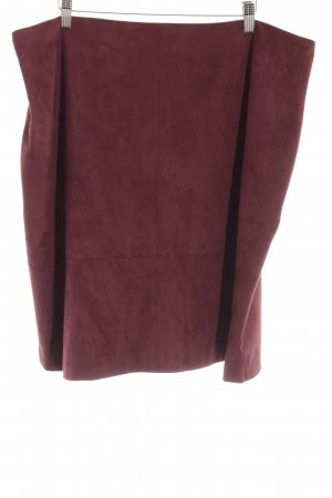 s.Oliver High Waist Rock purpur Casual-Look