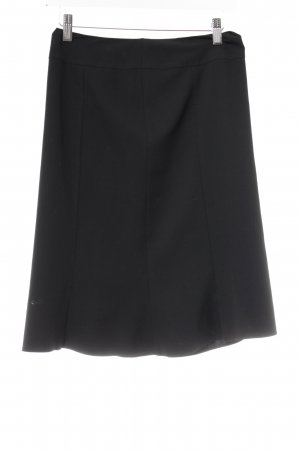 s.Oliver High Waist Rock schwarz Business-Look