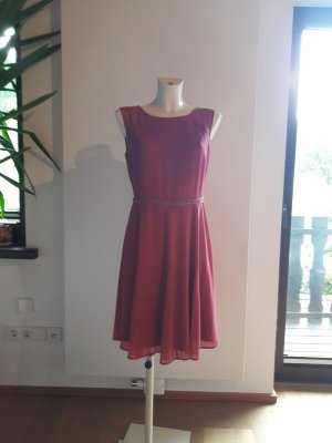 s.Oliver Empire Dress raspberry-red-pink