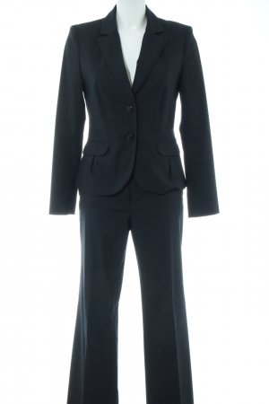 s.Oliver Trouser Suit blue business style