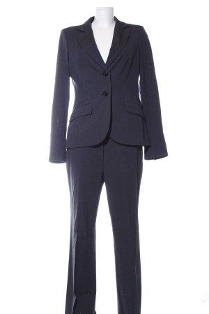s.Oliver Traje de pantalón negro estilo «business»