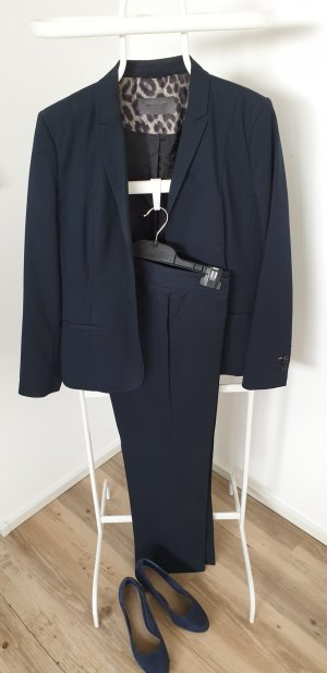 s.Oliver Trouser Suit dark blue