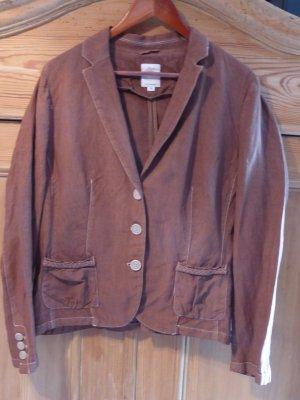 s.Oliver Tailleur-pantalon brun lin