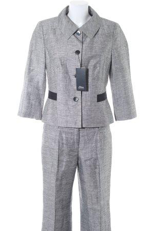 s.Oliver Broekpak grijs gestippeld zakelijke stijl