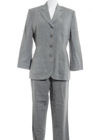 s.Oliver Tailleur pantalone grigio chiaro puntinato stile professionale