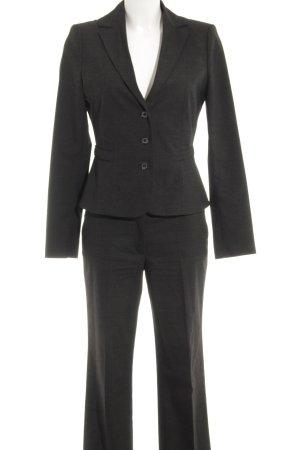 s.Oliver Traje de pantalón negro-gris estilo «business»